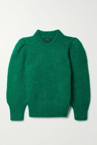 Chloé - Draped Satin-crepe Midi Dress - Copper