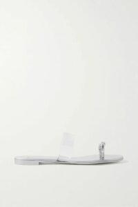 Charo Ruiz - Edda Crocheted Lace-paneled Cotton-blend Jacket - Black