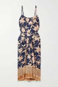 See By Chloé - Ruffled Chiffon Blouse - Orange