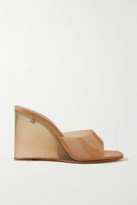Saloni - Jana Cutout Printed Stretch-cotton Midi Dress - Blue