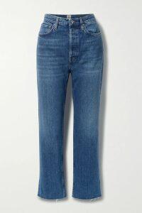 Equipment - Lisle Floral-print Silk-chiffon Mini Dress - Navy