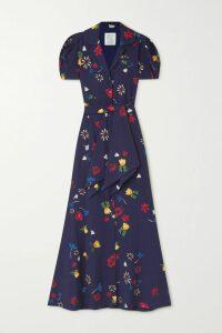 Acne Studios - Nalon Face Appliquéd Neon Wool Sweater - Bright green