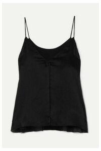 Cami NYC - The Sarah Silk-crepon Camisole - Black