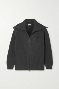 Stine Goya - Tiered Floral-jacquard Mini Dress - Navy