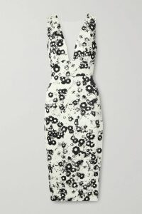 Dolce & Gabbana - Embellished Appliquéd Silk Sweater - White