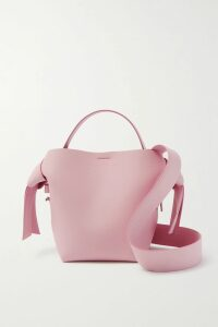 Altuzarra - Lawrence Buckled Leather Mini Skirt - Black