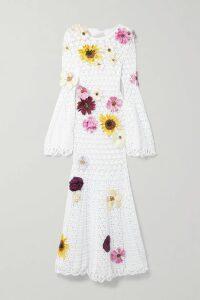 Haney - Sasha One-shoulder Sequined Tulle Dress - Pink