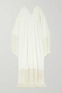 Kassl Editions - Faux Leather Coat - Beige