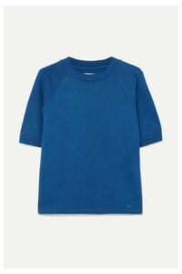 Solid & Striped - French Cotton-terry Sweatshirt - Blue