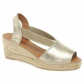 Toni Pons  Teide P Womens Wedge Heel Espadrilles  women's Espadrilles / Casual Shoes in Gold