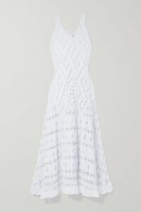 3.1 Phillip Lim - Lace-trimmed Cutout Satin Top - Black