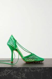Costarellos - Bow-embellished Polka-dot Flocked Tulle Blouse - Black