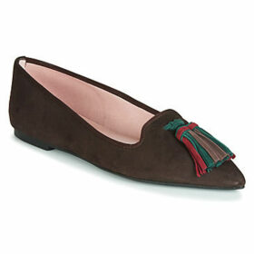 Pretty Ballerinas  JEENA  women's Shoes (Pumps / Ballerinas) in Brown
