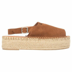 Alohas  Espadrilles sandals BACK STRAP  women's Espadrilles / Casual Shoes in Brown