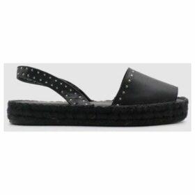Alohas  Espadrilles sandals IBIZAS STUDDED  women's Espadrilles / Casual Shoes in Black