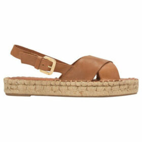Alohas  CROSSED Sandals Espadrilles  women's Espadrilles / Casual Shoes in Brown