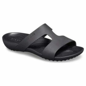 Crocs  Serena Slide Womens Slip On Sandals  women's Mules / Casual Shoes in Black