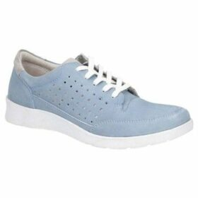 Hush puppies  Molly Womens Lace Up Trainers  women's Shoes (Trainers) in Blue