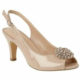 Lotus  Elodie Womens Sling Back Court Shoes  women's Sandals in Beige