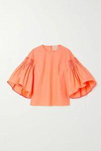 Kassl Editions - Matte-pu Coat - Blue