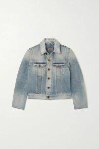 L'Agence - Scout Striped Linen And Cotton-blend Blazer - Blue