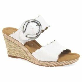 Gabor  Kent Womens Wedge Heel Sandals  women's Sandals in White