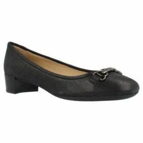 Geox  D CAREY B  women's Shoes (Pumps / Ballerinas) in Black