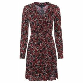French Connection  Floral print heart print dress  women's Dress in Red