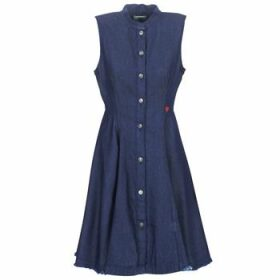 G-Star Raw  BRISTUM SLIM FLARE FRINGE  women's Dress in Blue
