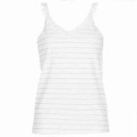 Betty London  KATACEL  women's Blouse in White
