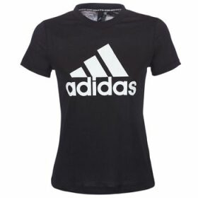 adidas  DY7734  women's T shirt in Black