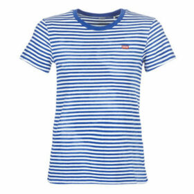 Levis  PERFECT TEE  women's T shirt in Blue