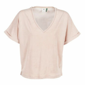 G-Star Raw  JOOSA  women's Blouse in Pink