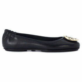 Tory Burch  Minnie Travel black nappa leather flat  women's Shoes (Pumps / Ballerinas) in Black