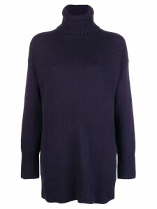 Joseph knitted turtleneck sweater - Blue