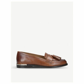 Mercury leather loafers