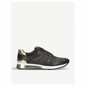Allie leather trainers
