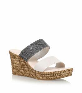 Sybil Wedge Sandals 80
