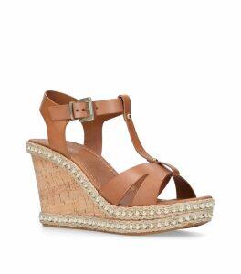 Karoline Wedge Sandals 60