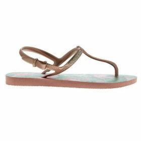 Havaianas Free Print Sandals - ROSE NUDE