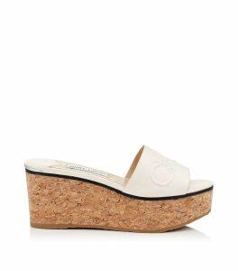 Deedee 80 Leather Wedge Sandals