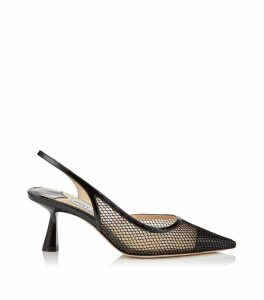 Fetto 65 Leather Slingback Pumps