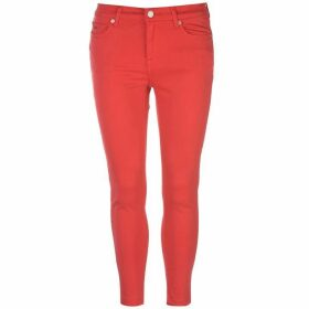 Tommy Jeans Tommy Mid Rise Nora 7/8 Jeans - Flame Scarlet