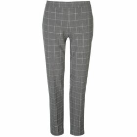 DKNY Side Zip Trousers Ladies - Black Combo