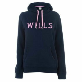 Jack Wills Wills Over the Top Hoodie - Navy 030