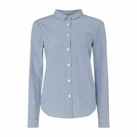 Jack Wills Prewitt Shirt - Navy Stripe