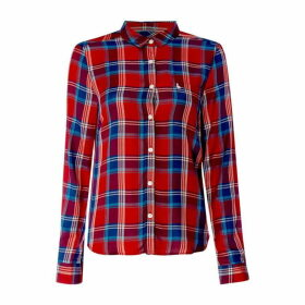 Jack Wills Tilly Check Shirt - Red