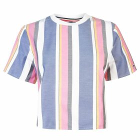 Tommy Jeans Tommy Stripe Blouse Womens - MULTISTRIPE