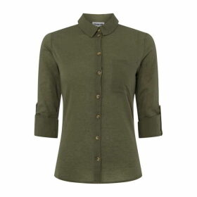 Noisy May Mila Shirt - OLIVE DRAB