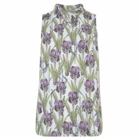 DARLING Amethyst Floral Top - Lilac Hint